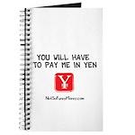 Pay Me In Yen Journal