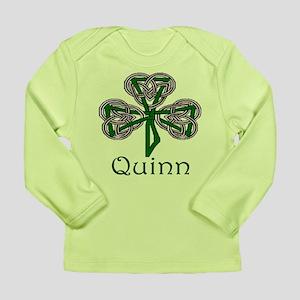 Quinn Shamrock Long Sleeve Infant T-Shirt