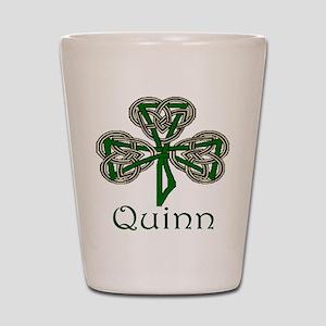 Quinn Shamrock Shot Glass
