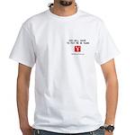 Pay Me In Yuan White T-Shirt