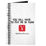Pay Me In Yuan Journal