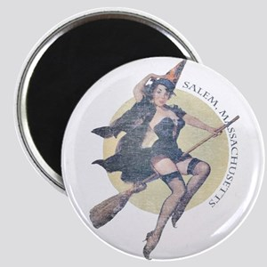 Vintage Salem Witch Magnet