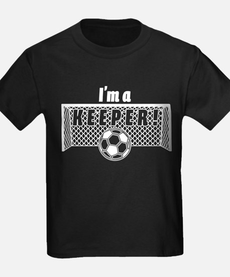 I'm a Keeper Soccer Goal Keep T