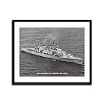 USS CHARLES S. SPERRY Framed Panel Print