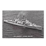 USS CHARLES S. SPERRY Postcards (Package of 8)