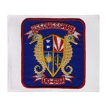 USS CHARLES S. SPERRY Throw Blanket