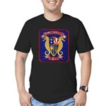 USS CHARLES S. SPERRY Men's Fitted T-Shirt (dark)