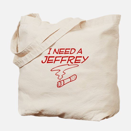 Cool Jeffrey Tote Bag
