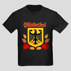 Oktoberfest Kids Dark T-Shirt