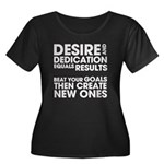 Desire and Dedication Women's Plus Size Scoop Neck