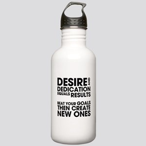 Desire and Dedication Stainless Water Bottle 1.0L