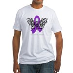 Leiomyosarcoma Tribal Fitted T-Shirt
