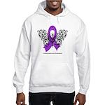 Leiomyosarcoma Tribal Hooded Sweatshirt