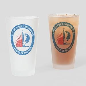 Vintage Fort Lauderdale Pint Glass