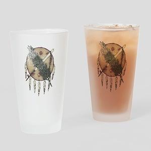 Faded Dreamcatcher Drinking Glass