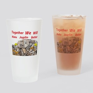 Together make Joplin Better Pint Glass