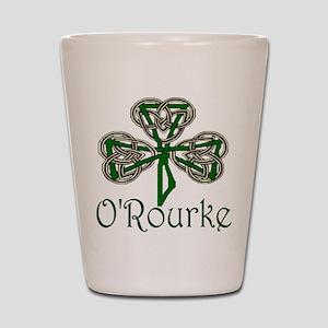 O'Rourke Shamrock Shot Glass