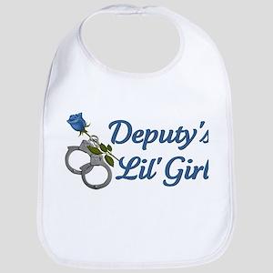 Deputy's Lil' Girl Bib