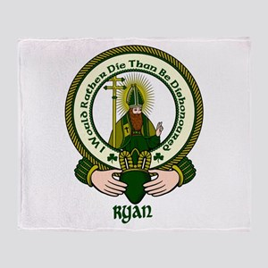 Ryan Clan Motto Throw Blanket