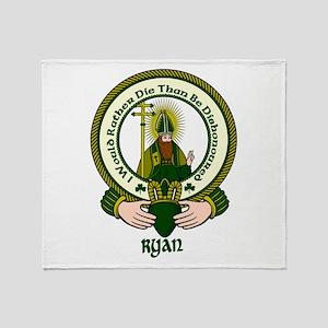 Ryan Clan Motto Throw Blanket