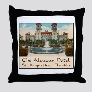 Alcazar Hotel Throw Pillow
