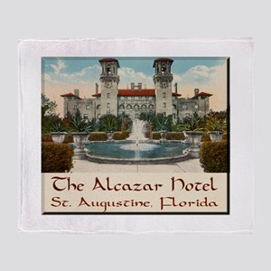 Alcazar Hotel Throw Blanket