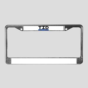 Take it deep License Plate Frame