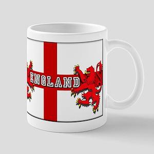 England Lion Flag 11 oz Ceramic Mug