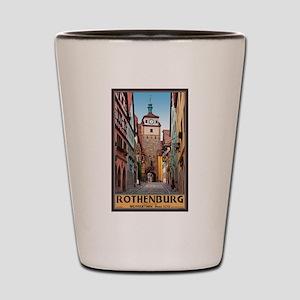 Rothenburg Weisserturm Shot Glass