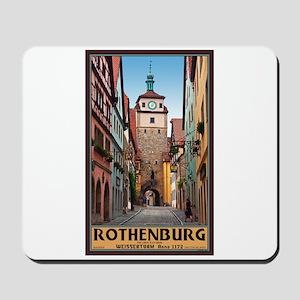 Rothenburg Weisserturm Mousepad