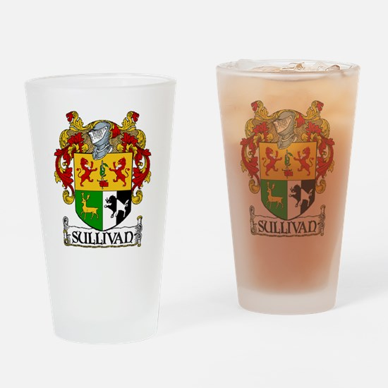 Sullivan Coat of Arms Pint Glass