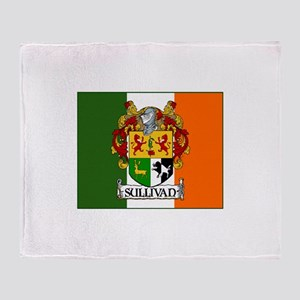 Sullivan Arms Flag Throw Blanket