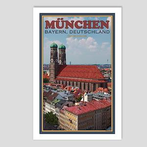 Munich Frauenkirche Postcards (Package of 8)