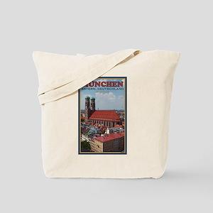 Munich Frauenkirche Tote Bag