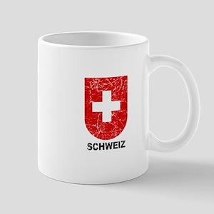 Schweiz Switzerland Shield Mug