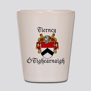 Tierney In Irish & English Shot Glass