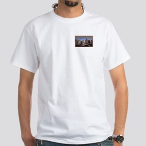 Across the Armbrug White T-Shirt