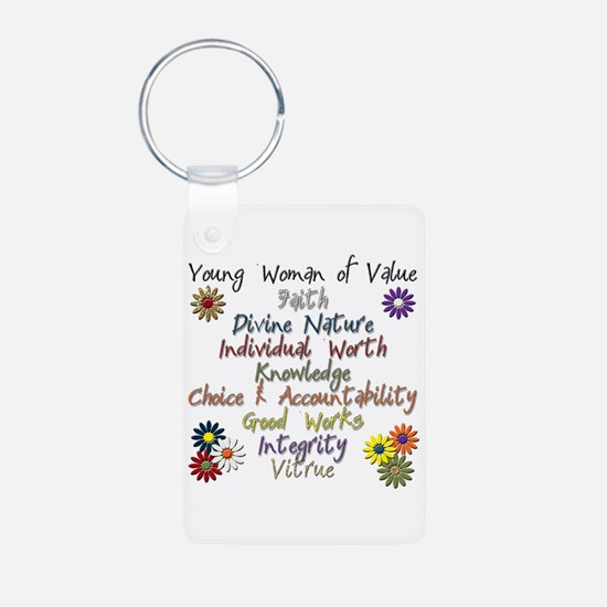 Cute Young women Keychains