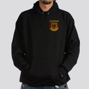 Deutschland (Germany) Shield Hoodie (dark)