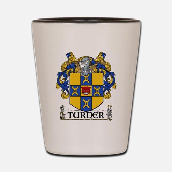 Turner Coat of Arms Shot Glass