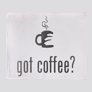Got Coffee? Throw Blanket