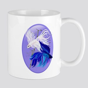 Blue 'n' White Siamese Fighti Mug