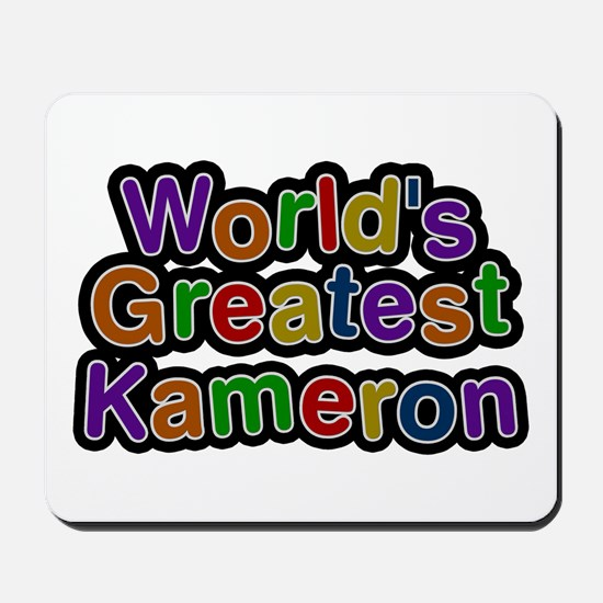 World's Greatest Kameron Mousepad