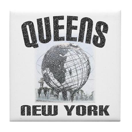 Queens, New York Tile Coaster