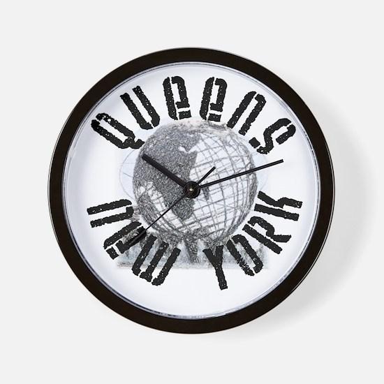 Queens, New York Wall Clock