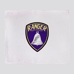 Riverside County Ranger Throw Blanket