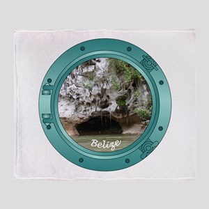 Belize Porthole Throw Blanket
