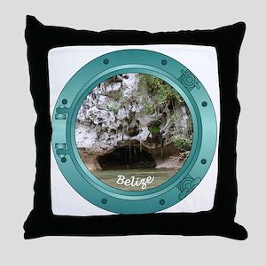 Belize Porthole Throw Pillow