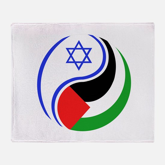 Cute Middle east Throw Blanket