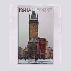 Old Town Hall Throw Blanket